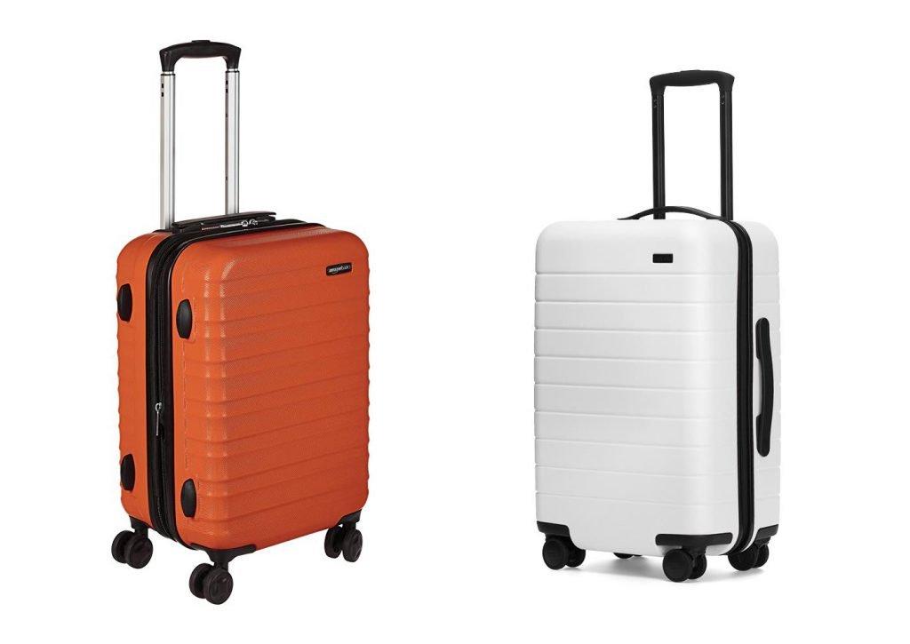 AmazonBasics vs Away Carry On Design