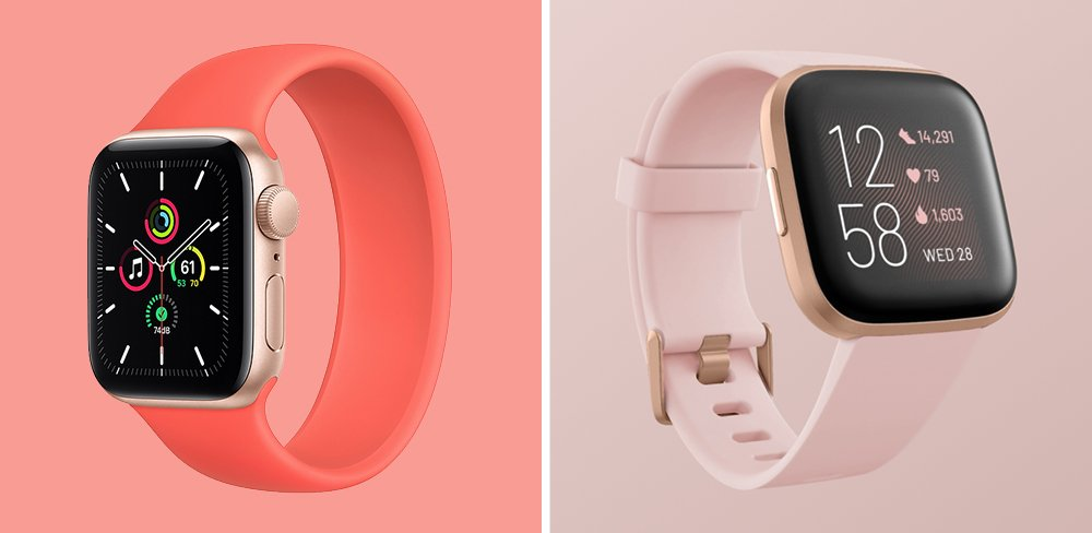 Apple Watch SE vs Fitbit Versa 2 Smartwatch Comparison