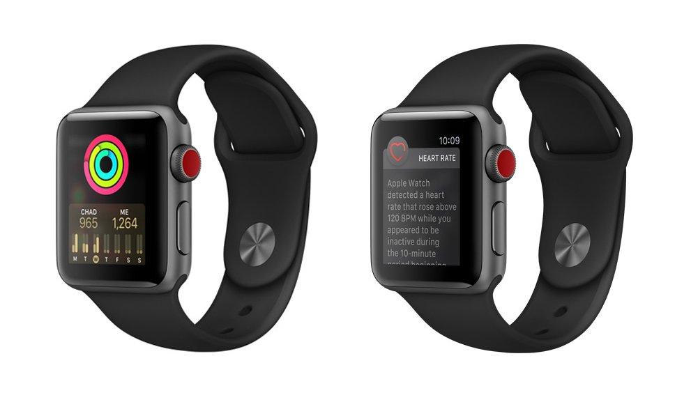 Apple Watch Series 3 Sensors