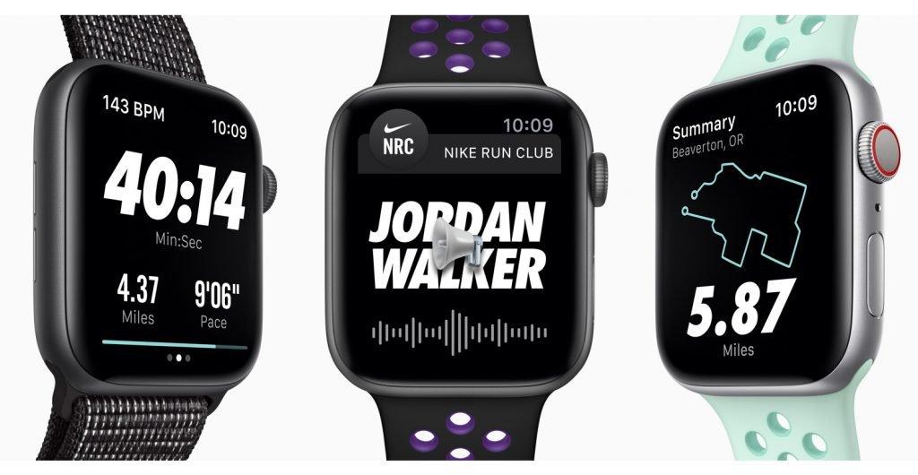 Apple Watch Series 4 vs Nike+ Apps
