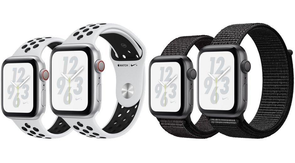 Apple Watch Series 4 vs Nike+ Bands