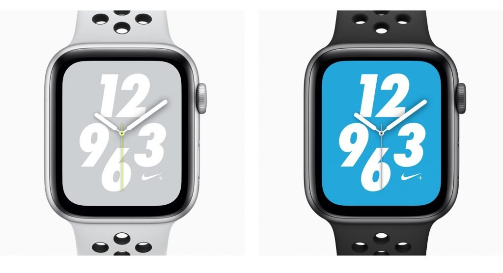 Apple Watch Series 4 vs Nike+ Watch Faces