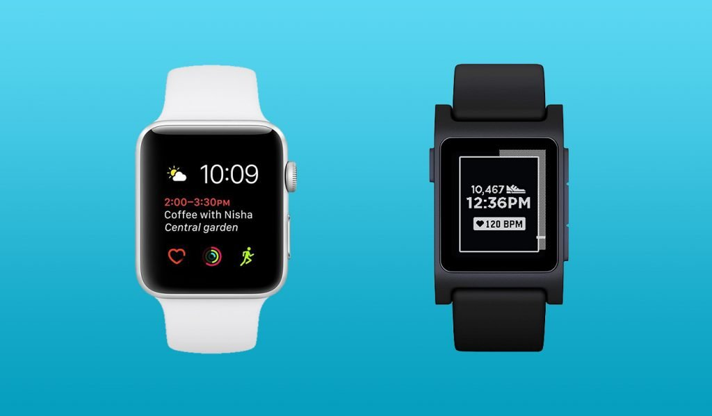 Apple Watch vs Pebble Design