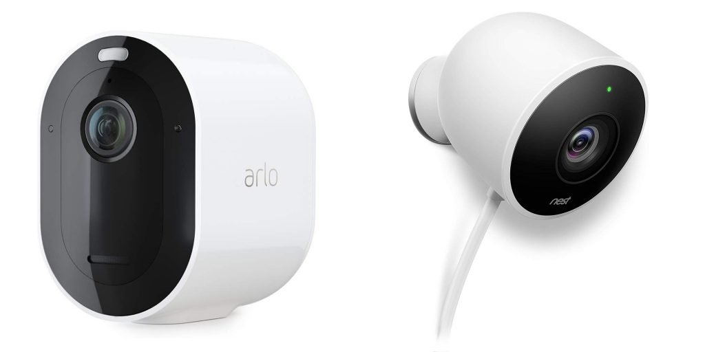 Arlo Pro 3 vs Nest Cam Outdoor Design