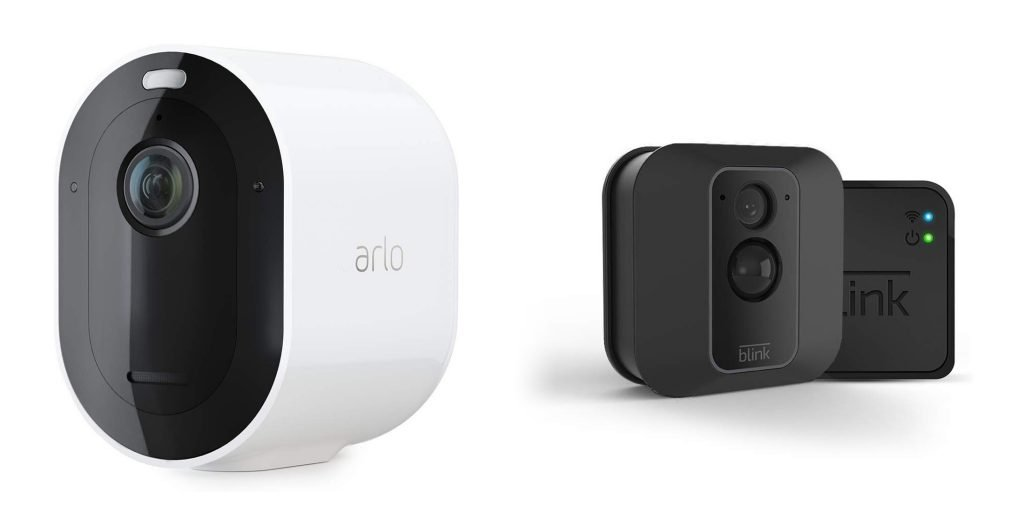 Arlo Pro 3 vs Blink XT2 Design