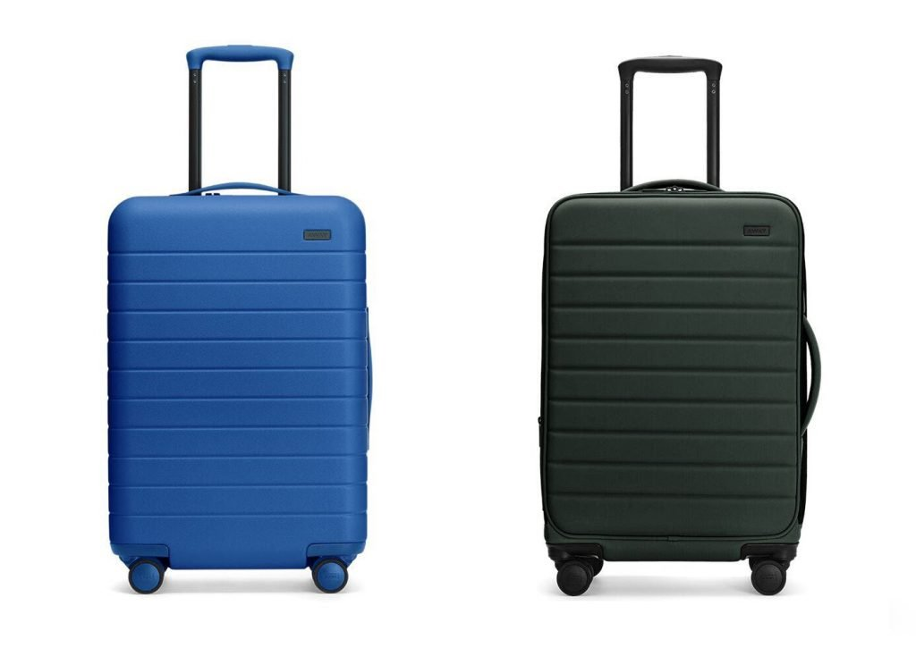 Away Hard vs Soft Luggage Design