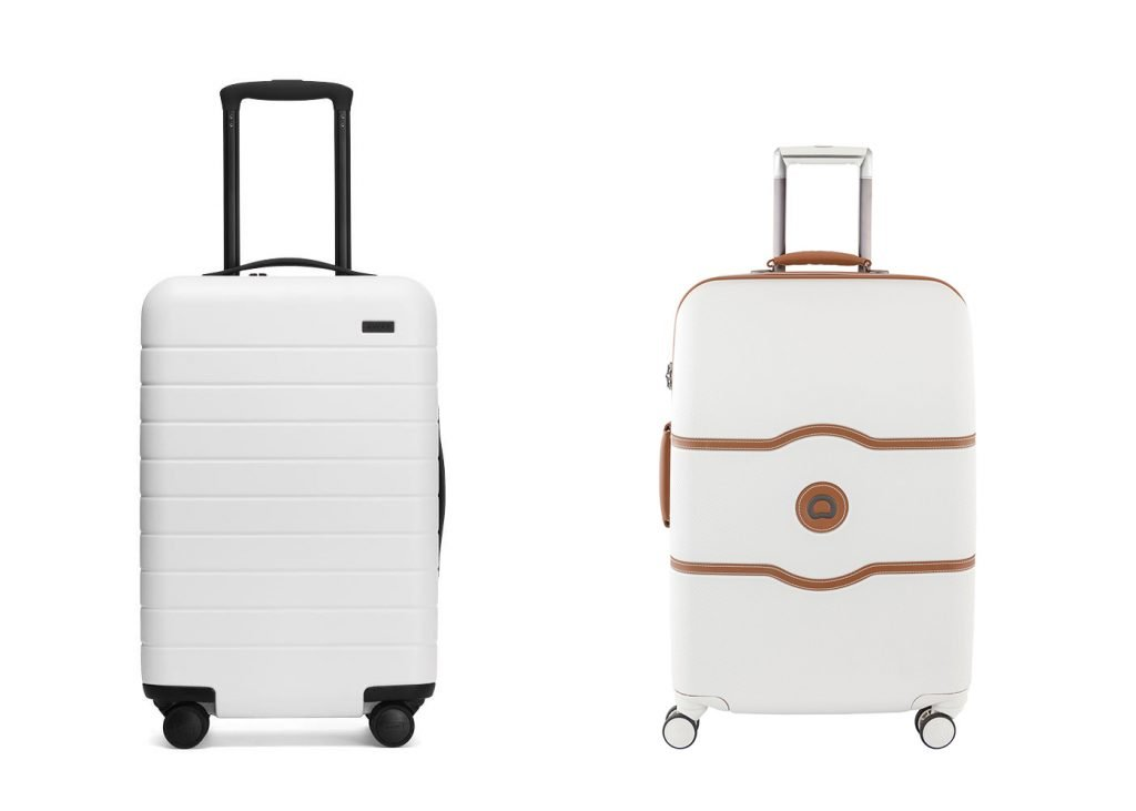 Away Luggage vs Delsey Paris Carry-On Design