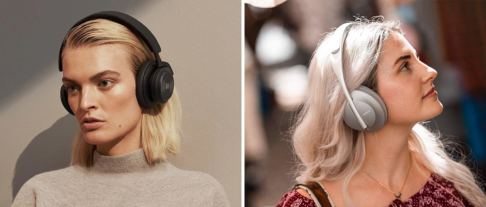 Bang & Olufsen vs Bose Noise Cancelling Headphones Comparison