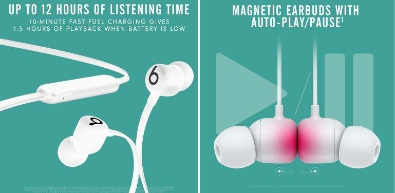 Beats Flex vs BeatsX features