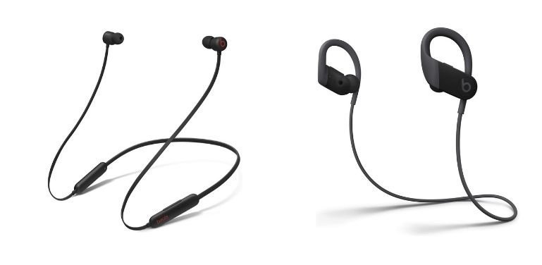 Beats Flex vs Powerbeats design