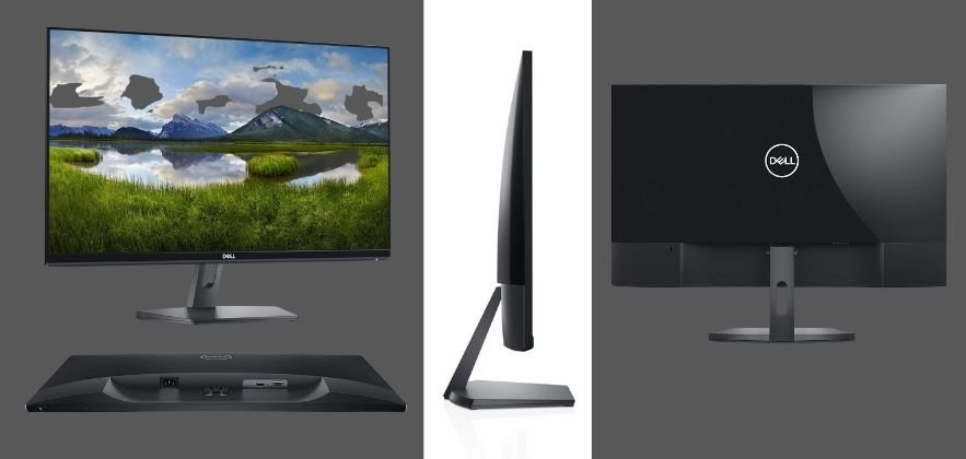 different views of the Best-Dell-Monitors-for-Home-Office-Dell-SE2719H-monitor