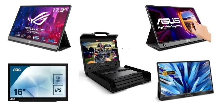 Best Portable Monitors For Gaming Comparison