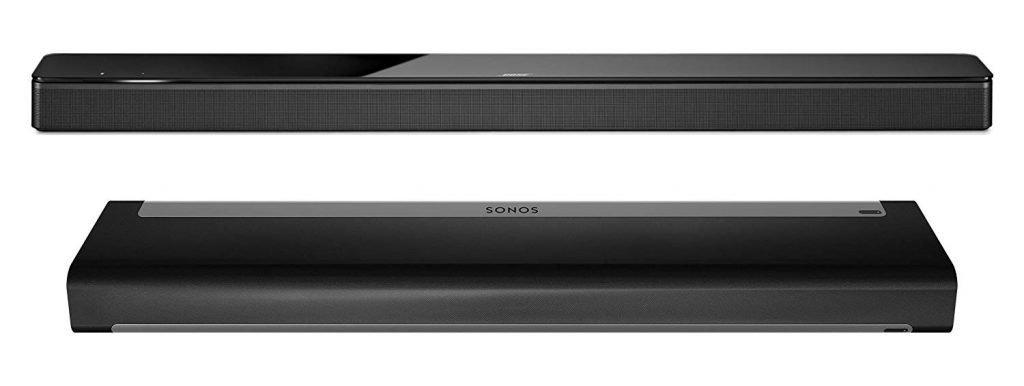 Bose 700 vs Sonos Playbar Design