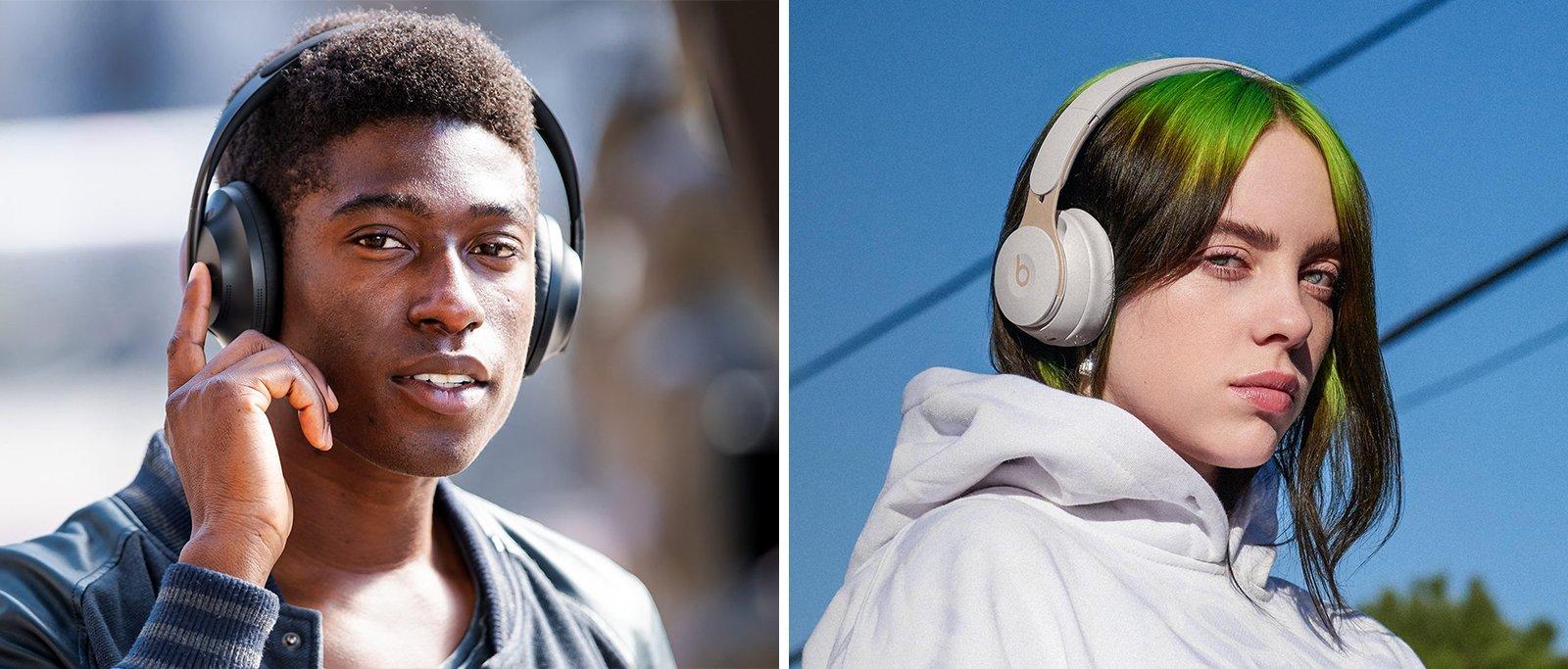 Bose vs Beats Noise Cancelling Headphones Comparison