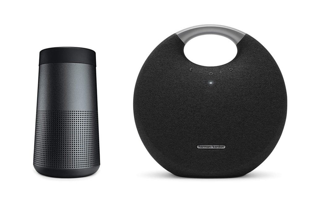 Bose vs Harman Kardon Bluetooth Speakers Design