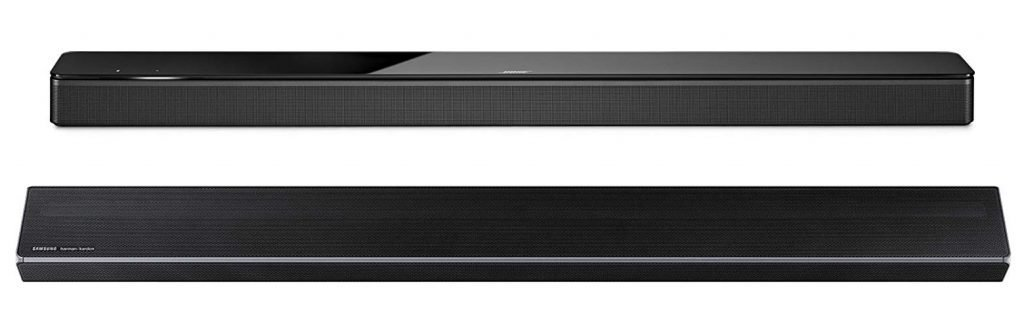 Bose vs Samsung Soundbar Design