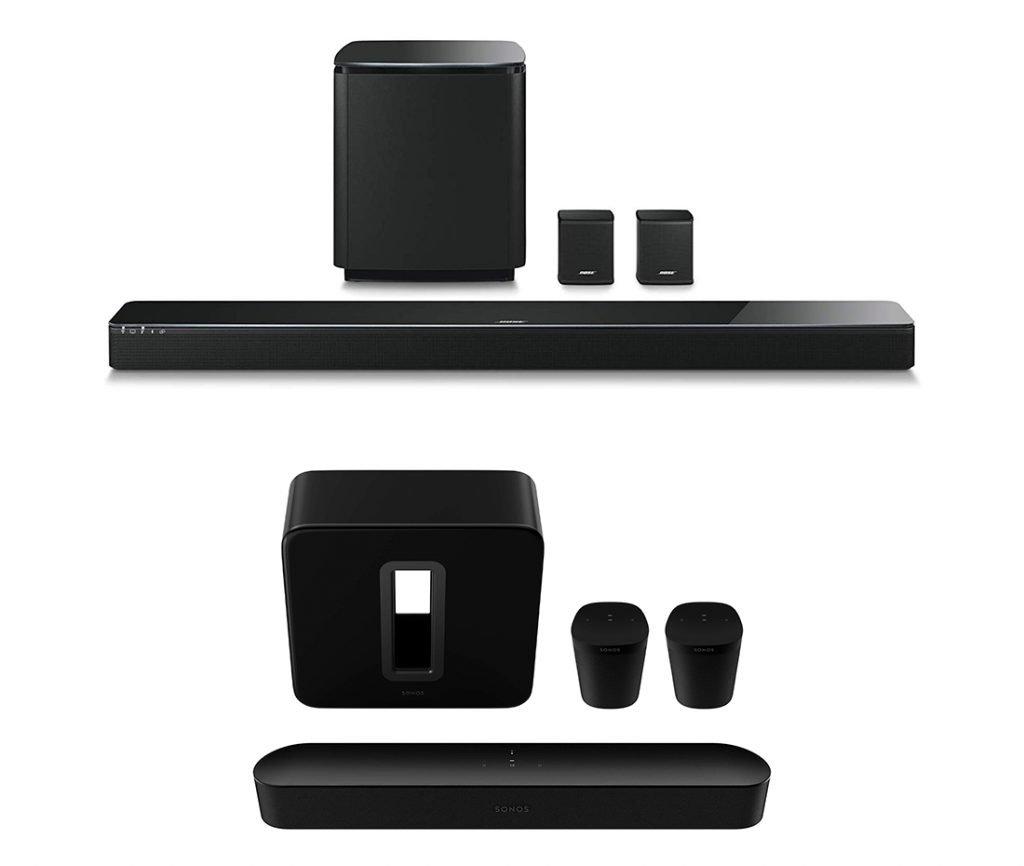 Bose vs Sonos Home Theater System Design