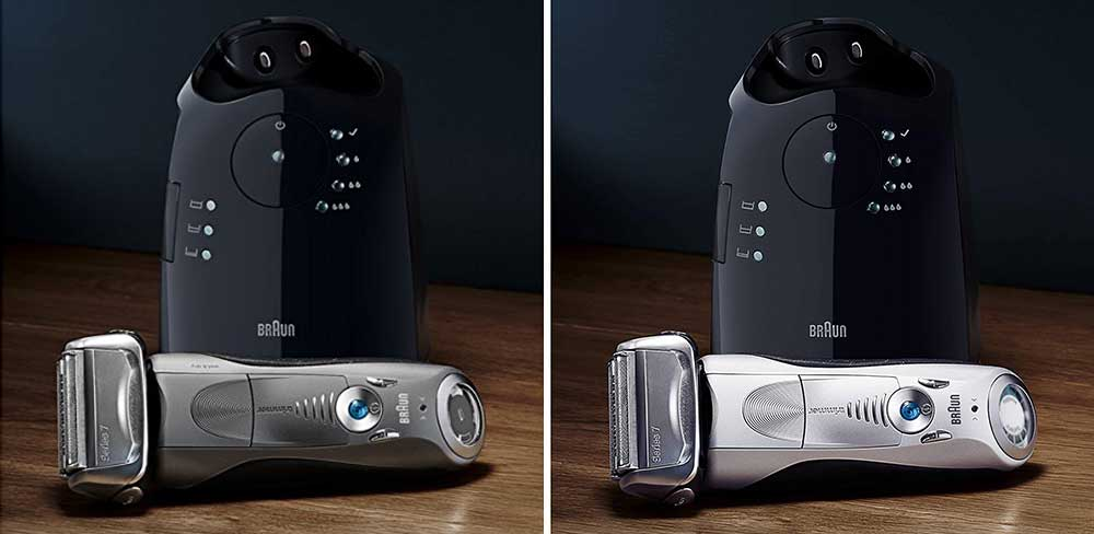 Braun Series 7 7865cc vs 790cc Shaver Comparison