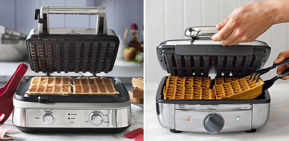 Breville vs All-Clad Waffle Maker Comparison