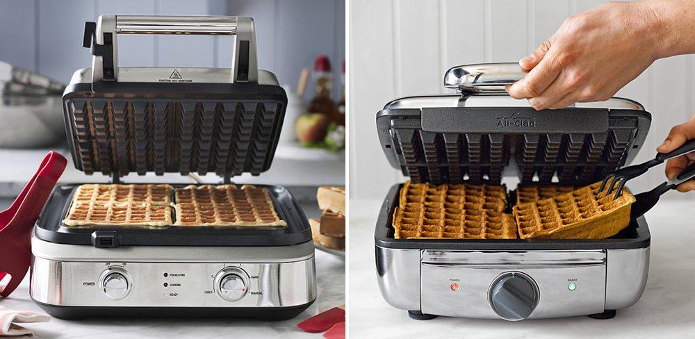 Breville vs All-Clad Waffle Maker Comparison