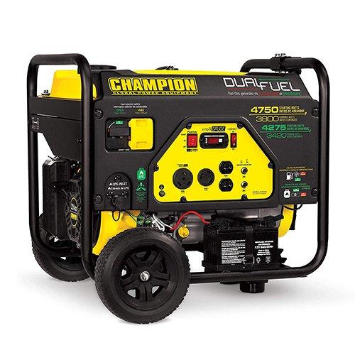 Champion 76533 3800-Watt Dual Fuel RV Ready Portable Generator