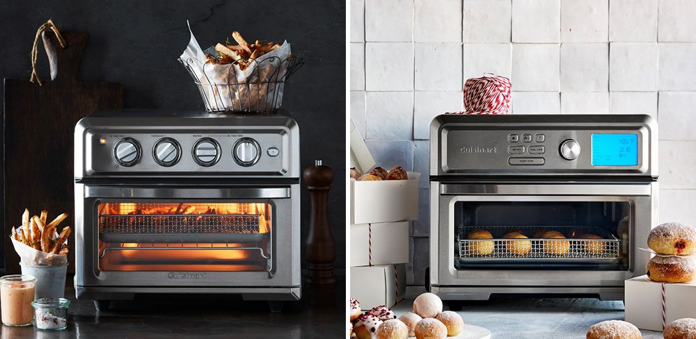 Cuisinart TOA-60 vs TOA-65 AirFryer Toaster Oven Comparison