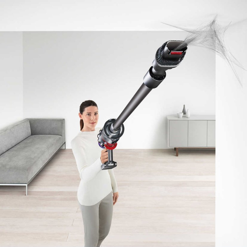 Dyson Cyclone V10 Total Clean vs Absolute Cordless Stick Vacuum Cleaner Handling