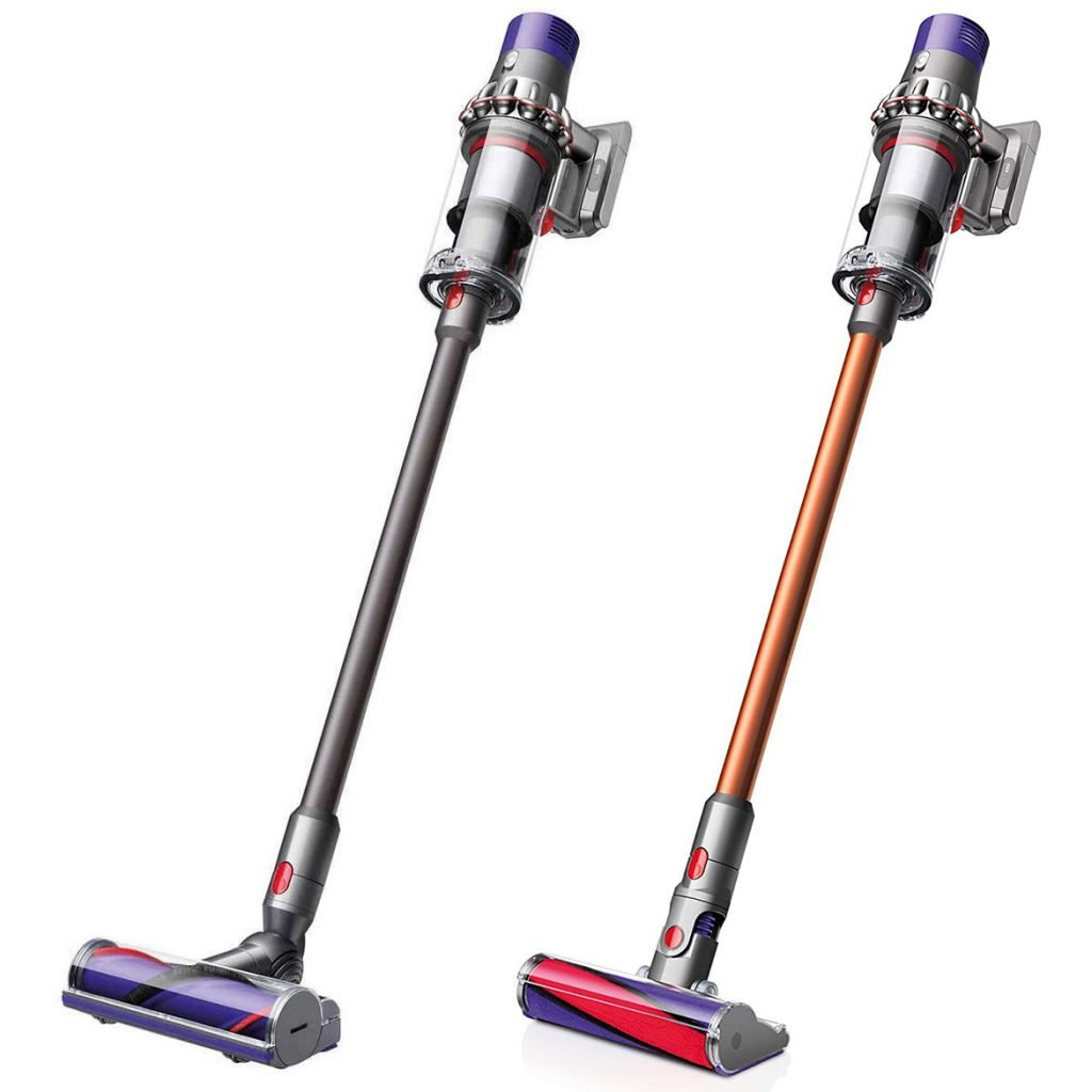 Dyson Cyclone V10 Total Clean vs Absolute Cordless Stick Vacuum Cleaner Design