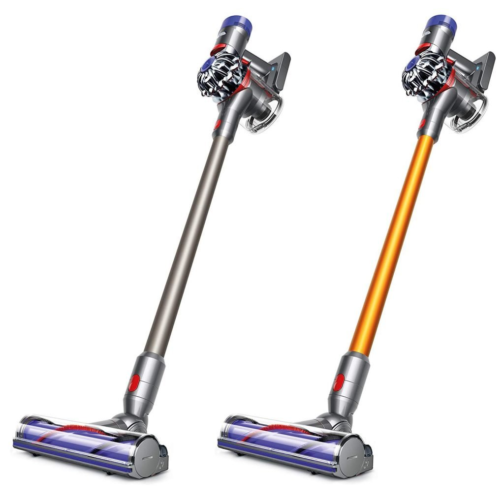 Dyson V8 Animal vs Absolute Cordless Vacuum Cleaner Design