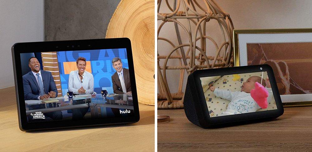 Echo Show 10 vs 5 Smart Display Comparison
