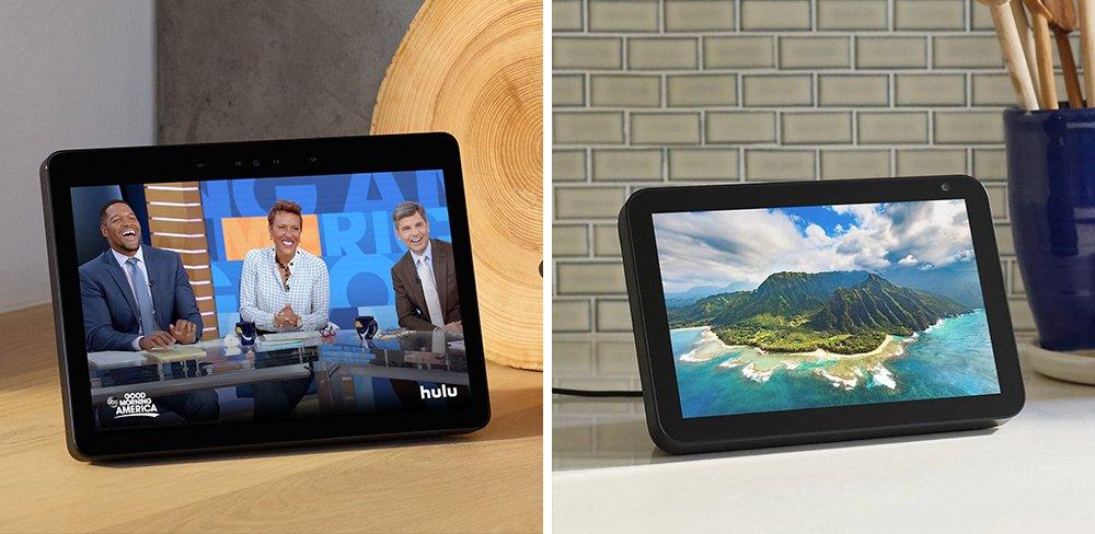 Echo Show 10 vs 8 Smart Display Comparison