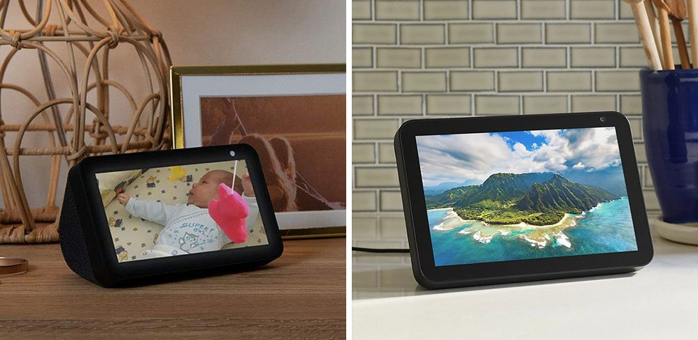 Echo Show 5 vs 8 Smart Display Comparison