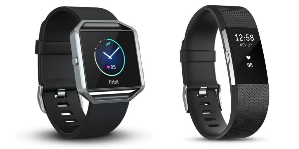 Fitbit Blaze vs Charge 2 Design