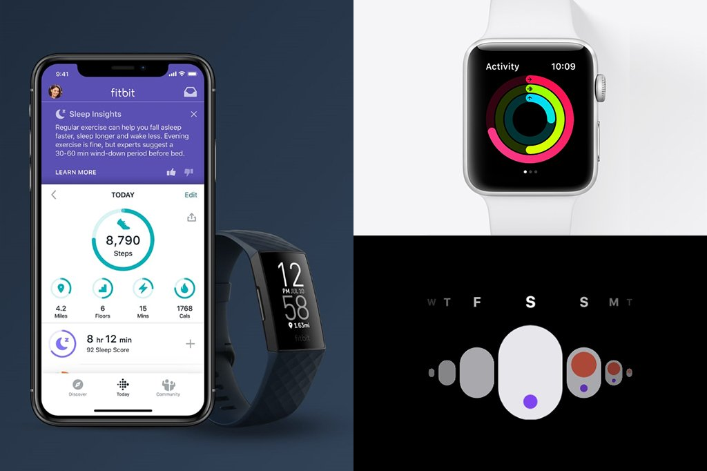 Fitbit Charge 4 vs Apple Watch 3 Fitness Tracker Activity Tracking