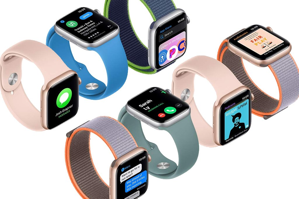 Fitbit Charge 4 vs Apple Watch 5 Fitness Smartwatch Smart Features