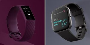 Fitbit Charge 4 vs Versa 2 Fitness Tracker Comparison