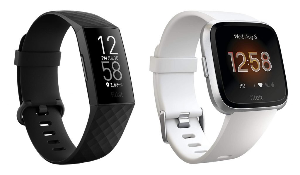Fitbit Charge 4 vs Versa Lite Fitness Tracker Design