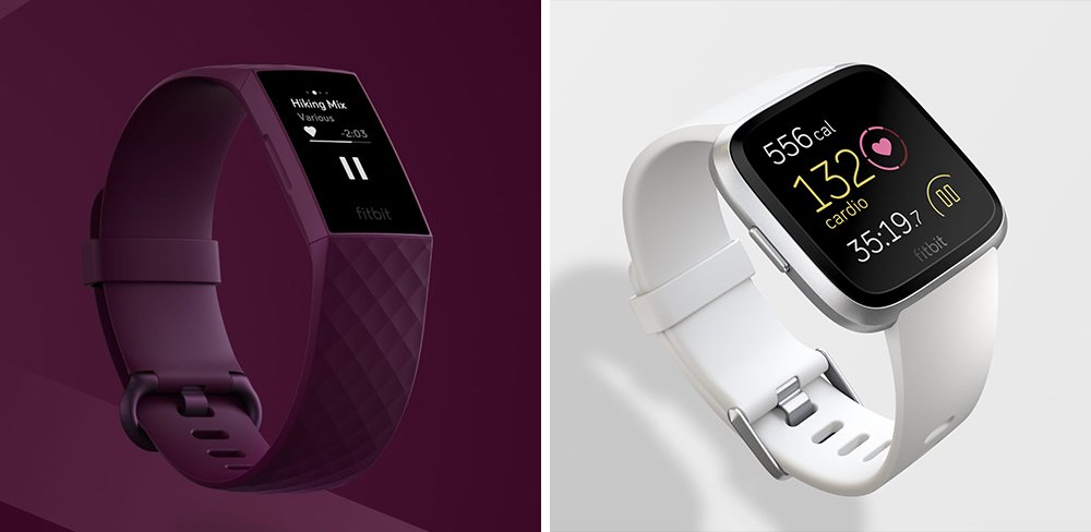 Fitbit Charge 4 vs Versa Lite Fitness Tracker Comparison