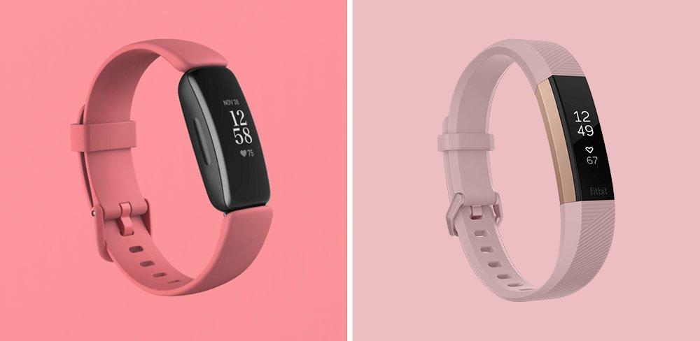 Fitbit Inspire 2 vs Alta HR Fitness Tracker Comparison
