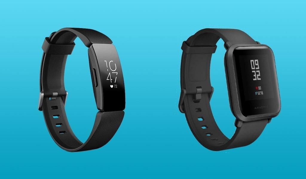 Fitbit Inspire HR vs Amazfit Bip Design