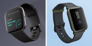 Fitbit Versa 2 vs Amazfit Bip Fitness Smartwatch Comparison