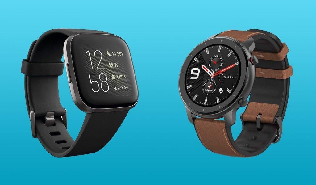 Fitbit Versa 2 vs Amazfit GTR Design