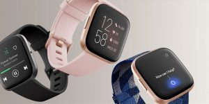 Fitbit Versa 2 vs Versa 2 Special Edition Fitness Tracker Smartwatch Comparison