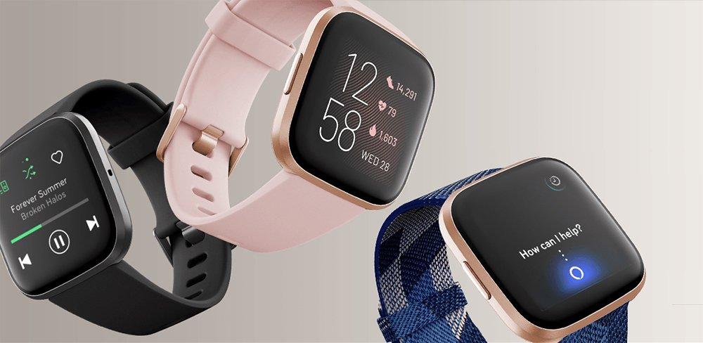 Fitbit Versa 2 vs Versa 2 Special Edition Fitness Tracker Smartwatch Comparison