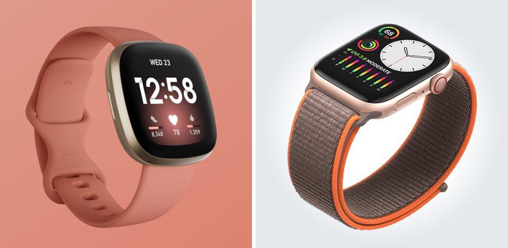 Fitbit Versa 3 vs Apple Watch Series 5 Comparison