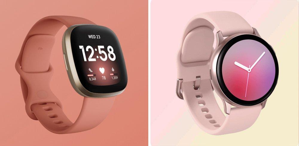 Fitbit Versa 3 vs Galaxy Watch Active2 Comparison