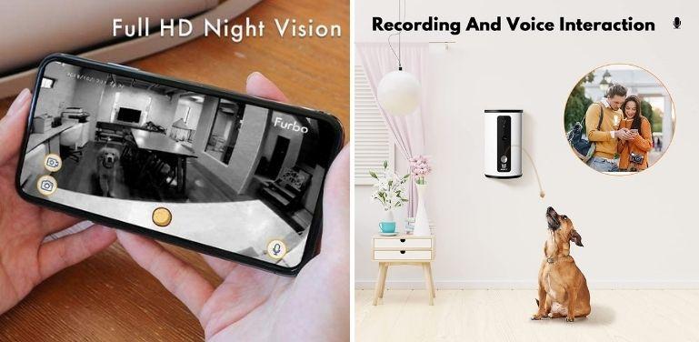 Furbo vs Wopet audio and video