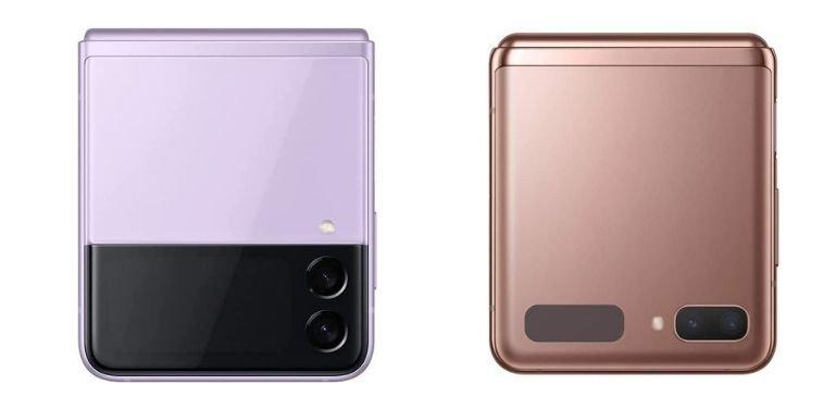 Galaxy Z Flip 3 vs Galaxy Z Flip 5G display
