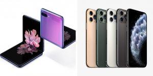 Galaxy Z Flip vs iPhone 11 Pro Comparison