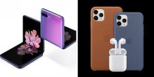 Galaxy Z Flip vs iPhone 11 Pro Max Comparison